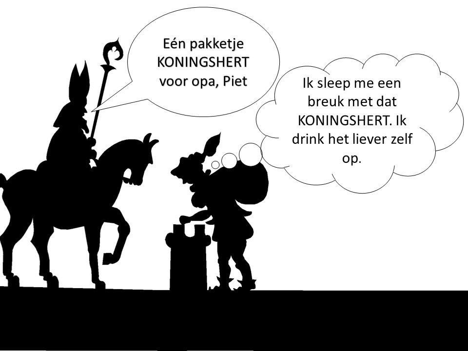 Sinterklaas en Koningshert